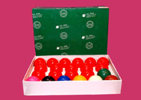 Billiard and Snooker Balls