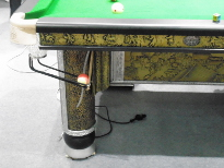Snooker and billiards leg designs